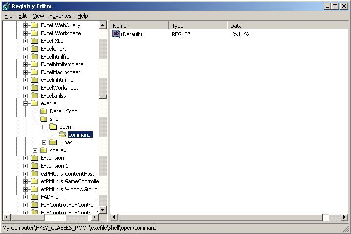 how to change exe file extension